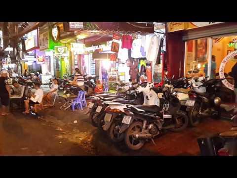 Phạm Ngũ Lão Street, Quận 1st District, Saigon, VietNam.Jan.8.2017