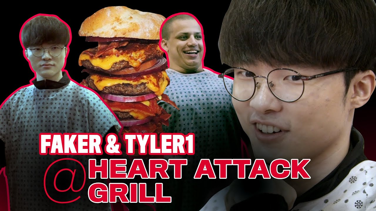 Download T1 Faker and Tyler1 Visit the Heart Attack Grill
