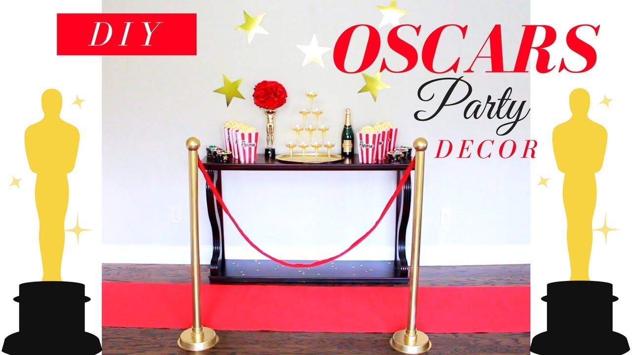 How to make STANCHIONS | DIY OSCARS PARTY DECOR - YouTube