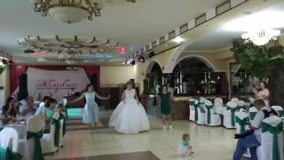 Свадебный флешмоб сестер с невестой. Семья Светличных!!!!
