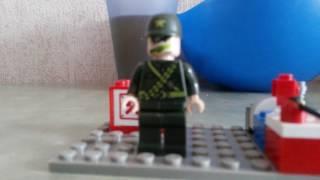 Лего  мультик  про  военного