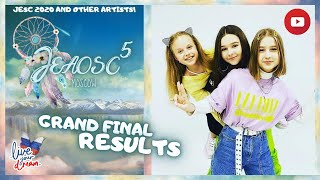 Grand Final Results – Junior Eurovision Artists Other Song Contest #5 – Moscow 🇷🇺
