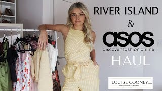 ASOS & RIVER ISLAND SUMMER/ TRANSITIONING INTO AUTUMN HAUL | Louise Cooney