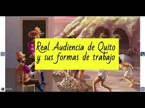 La Real Audiencia de Quito y sus formas de trabajo
