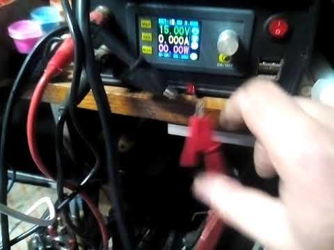 светодиод и импульсный лабораторник