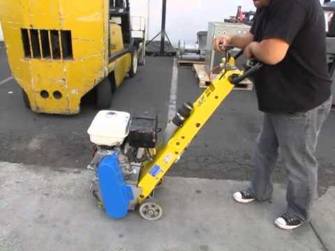 SOLD Von Arx 10 Concrete Scarifier Planer Grinder 9 hp