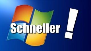 Windows schneller machen! (ohne Zusatzsoftware)