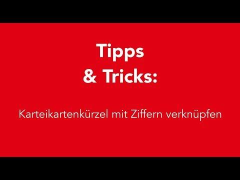 CGM ALBIS Tipps & Tricks: Karteikartenkürzel mit Ziffer verknüpfen