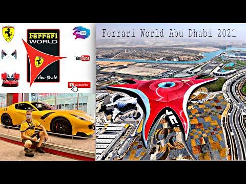 Ferrari World Abu Dhabi – 2021 – Complete Tour