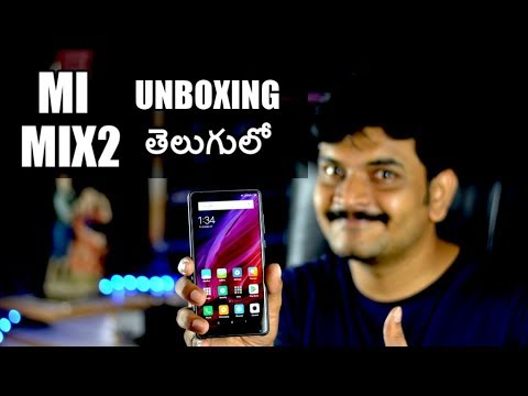 Xiaomi Mi Mix2 Unboxing & initial impressions ll in telugu ll by prasad ll
