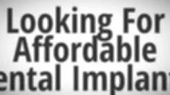 Affordable Dental Implants San Antonio (210) 463-4111 Call Today!