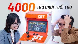 Máy chơi Game Thùng hồi sinh: 4000 trò chơi, nhưng giá thì shock luôn!