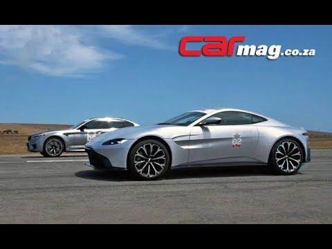 Drag Race Bmw M5 Competition Vs Aston Martin Vantage Youtube