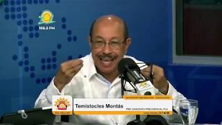 Entrevista al precandidato presidencial por el PLD, Temístocles Montás, Zol FM