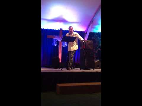 Pastor Rich Anderson of Holding Out Hope Church