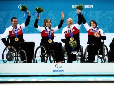 Лучшие моменты с Паралимпийских игр в Sochi 2014