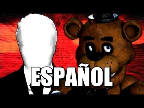 Freddy fazbear vs slenderman video game rap battle subtitulos