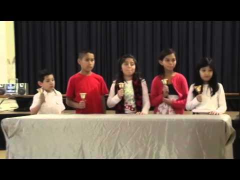 "UCHIDA Handbell - Outreach Program - ""Jingle Bells"" - Nora Sterry Elementary School"