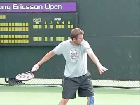 Mardy Fish Slow Motion Forehand