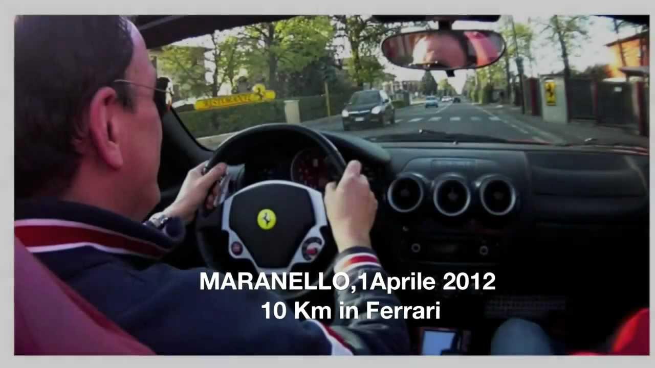 giro in ferrari a maranello aprile 2012 - youtube