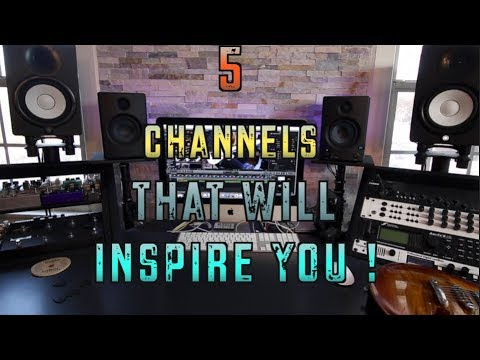 5 Guitar Channels That WIll Inspire You To Play!!