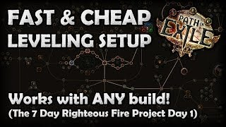Path of Exile: The Fastest & Cheapest Leveling Setup for ANY Character or Build