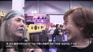 NAMM 2014 Uli Roth Interview by Se-Hwang James Kim