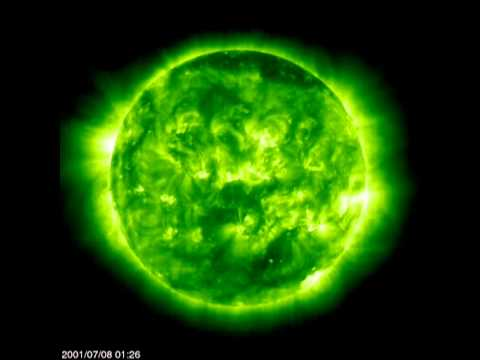 One Active Solar Rotation (SOHO)