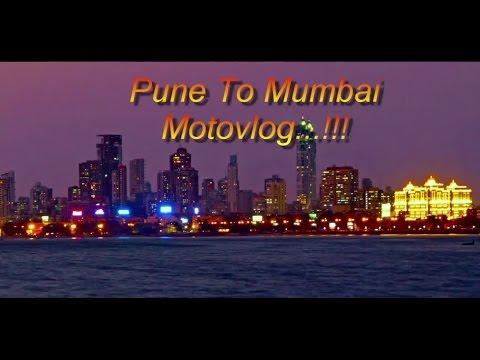 Pune to Mumbai | Motovlog | #vlog6