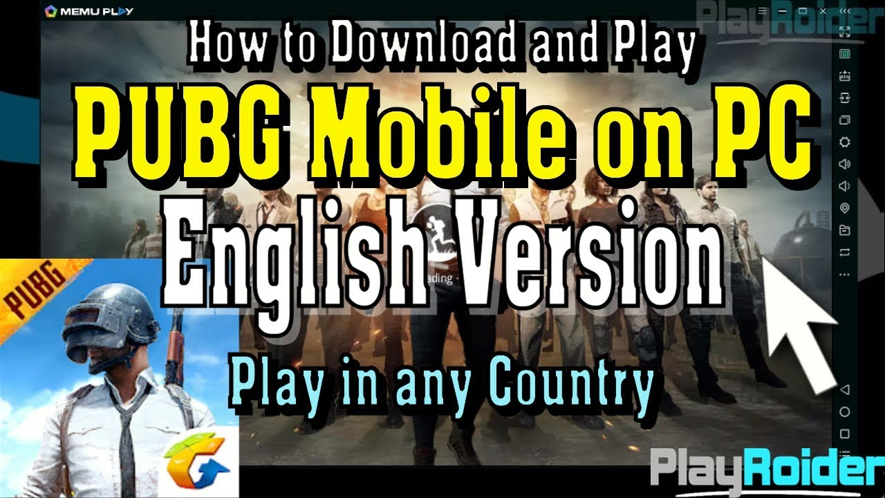 How To Play Pubg Mobile On Pc: How To Play PUBG Mobile On PC English Mouse And Keyboar