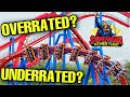 - Superman: Ultimate Flight - OVER or UNDERRATED? Six Flags Great America