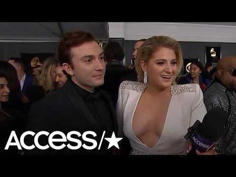 Grammys 2019: Meghan Trainor & Daryl Sabara Are Going To Party & Eat Pizza After The Show!
