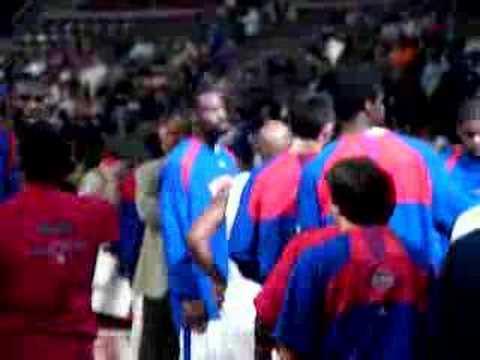 Pre Season-Detroit Pistons