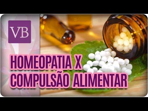 Homeopatia Pode Ajudar na Compulsão Alimentar - Você Bonita (20/03/18)