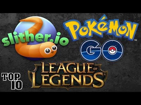 Top 10 Most Popular Video Games Online