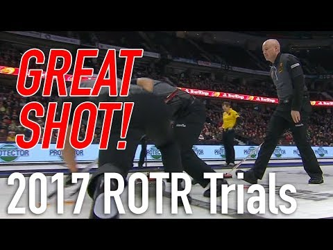 2017 Tim Hortons Roar of the Rings - Kevin Koe draws for the win