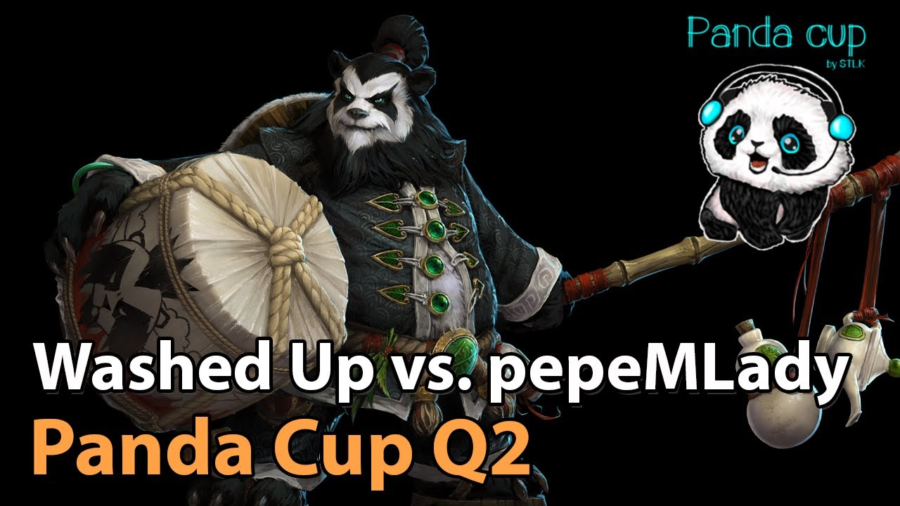 ► Washed Up vs. pepeMLady - Panda Cup Q2 - Heroes of the Storm Esports