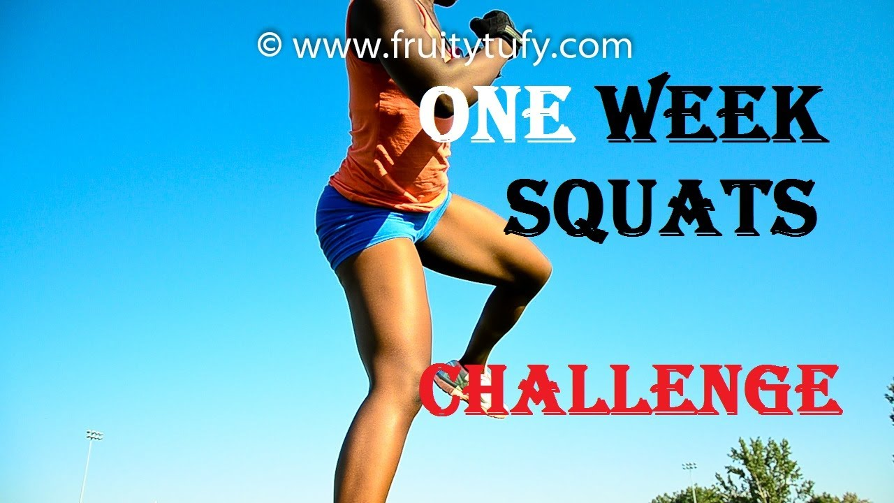 One Week Squats Challenge - YouTube