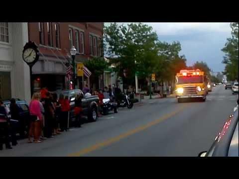 Versailles High School Track Teams Return After State Meet - 2012