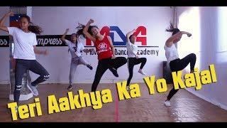 Teri Aakhya Ka Yo Kajal || Bidur Siwakoti Choreography || The Movement Dance Academy