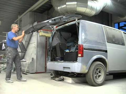 Astro Rear Door Youtube