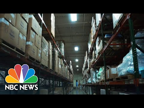 Mass General Taps Into Emergency Supply Stockpile As Coronavirus Cases Surge | NBC Nightly News