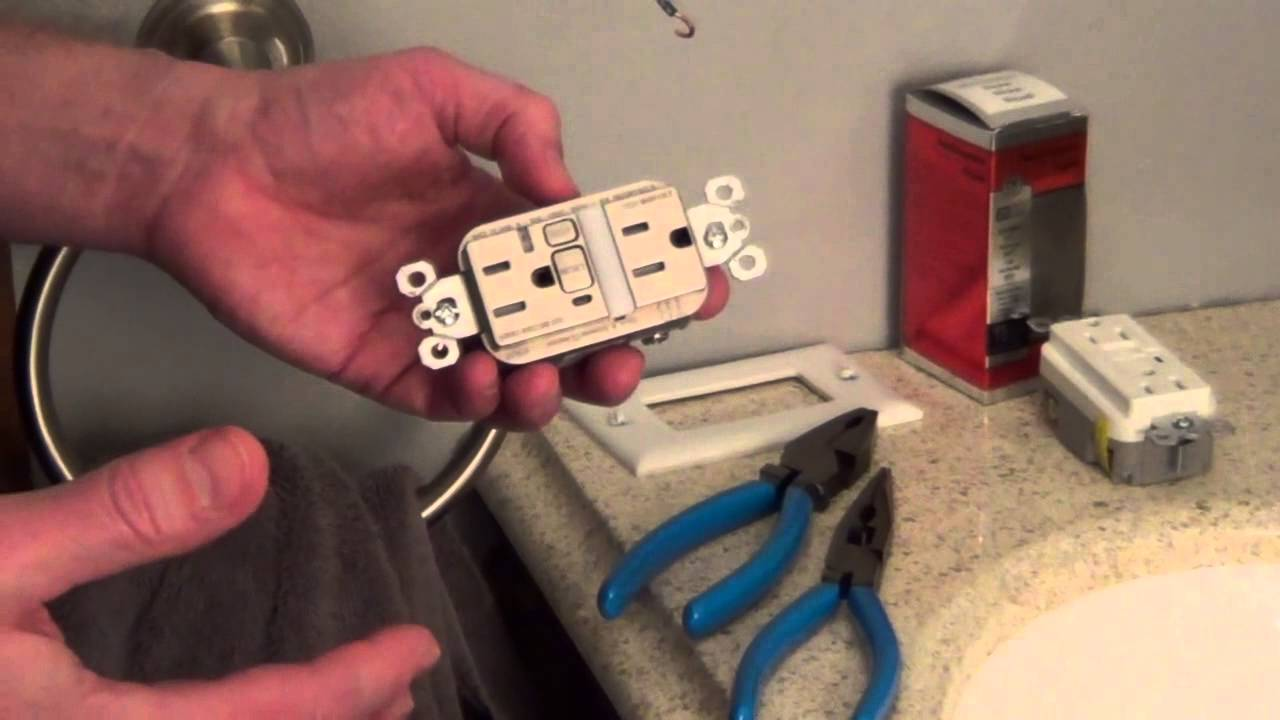 Outlet Night Light Nite Lite Gfci Youtube Ground Fault Circuit Interrupter Safe Household And