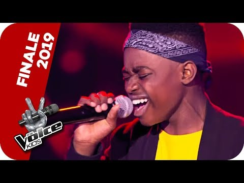 Seal - Kiss From A Rose (Thapelo) | Finale | The Voice Kids 2019 | SAT.1