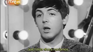 INÉDITO - Los Beatles en el estudio  Subtitulado en ESPAÑOL