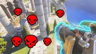 When You Kill The Team With 0 Seconds Left!! - Overwatch Overtime Plays