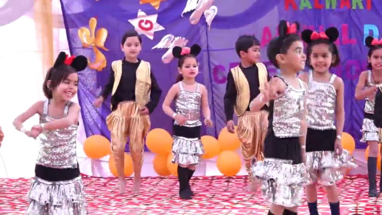 chandu ke chacha ne chandu ki chachi ko kids group dance performance GPS  kalwari Annual day 2016