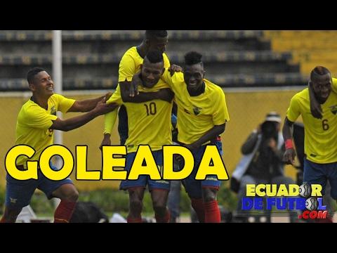 RELATO EMOCIONANTE Ecuador 3-0 Colombia | Sudamericano Sub 20 2017