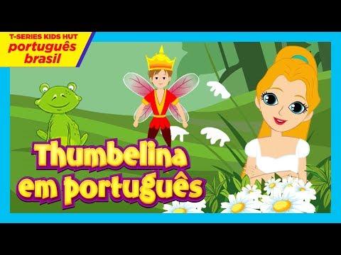 thumbelina em português - (Filme Completo)    A Polegarzinha - Histórias para crianças
