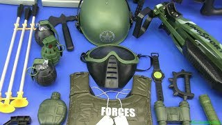 Box of Toys ! Military Toy Guns Toys - Compilation Military Gun Toys - Video for Kids